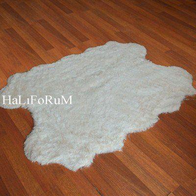 HALIFORUM POST HALI TAVŞAN TÜYÜ KREM 140X200-DO-TAV-DÖRT KAFA
